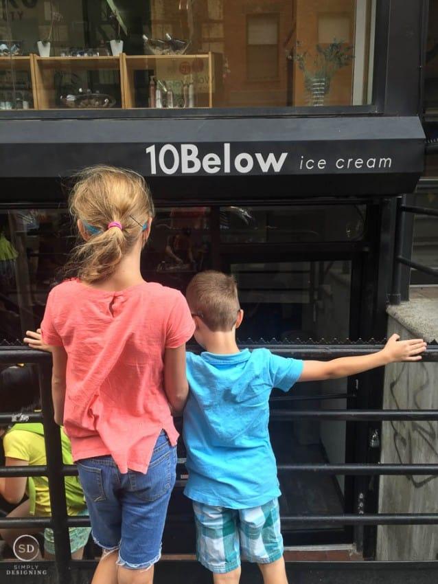 10 Below Ice Cream Chinatown NYC