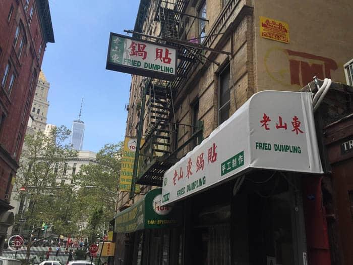 Fried Dumplings Chinatown NYC