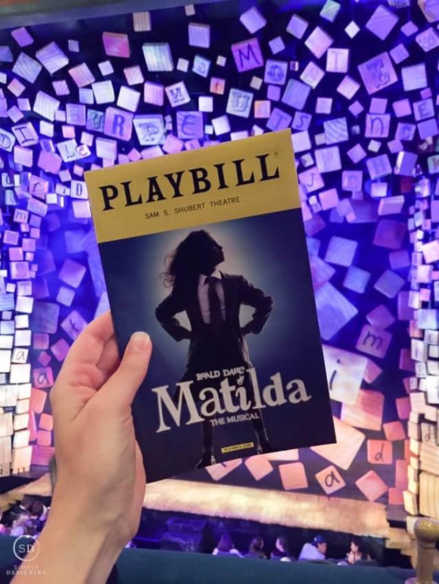 Matilda on Broadway NYC