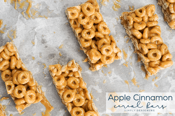 Apple Cinnamon Cereal Bars Recipe