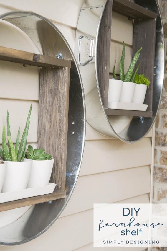 DIY Farmhouse Shelf Magnolia Market Inspired Hanging Shelf Wait Until You See Our Best DIYs of the Year 1 Best DIYs