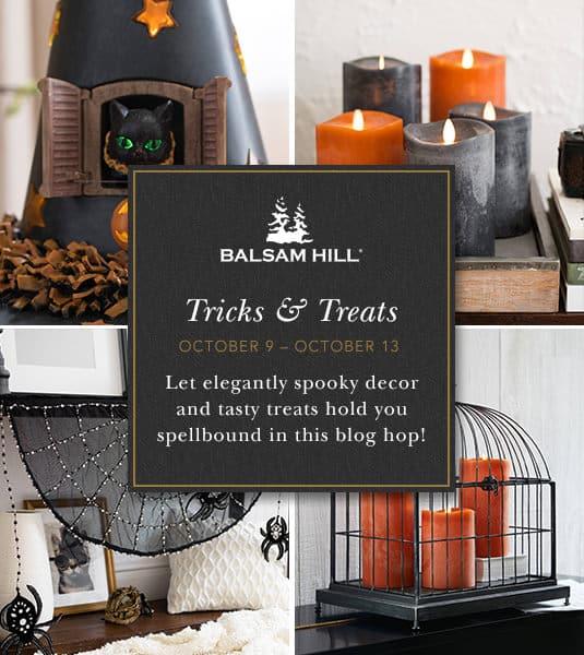 20170928 Halloween Blog Hop Banner Easy Outdoor Halloween Decorations for your Porch 1 Halloween Decorations