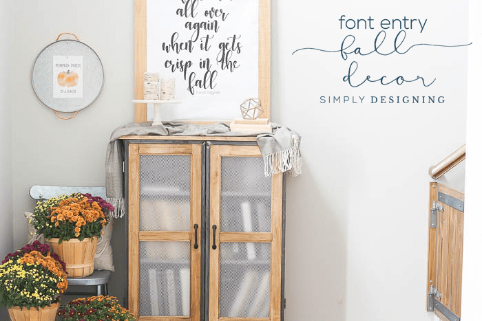 Front Entry Fall Decor Ideas