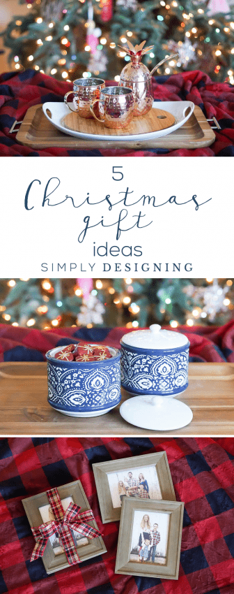 5 Christmas Gift Ideas - easy unique and fun holiday gift ideas
