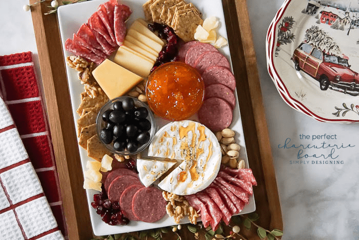 Charcuterie Board - the perfect Christmas Appetizer