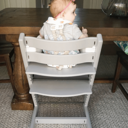 How to Repaint a High Chair