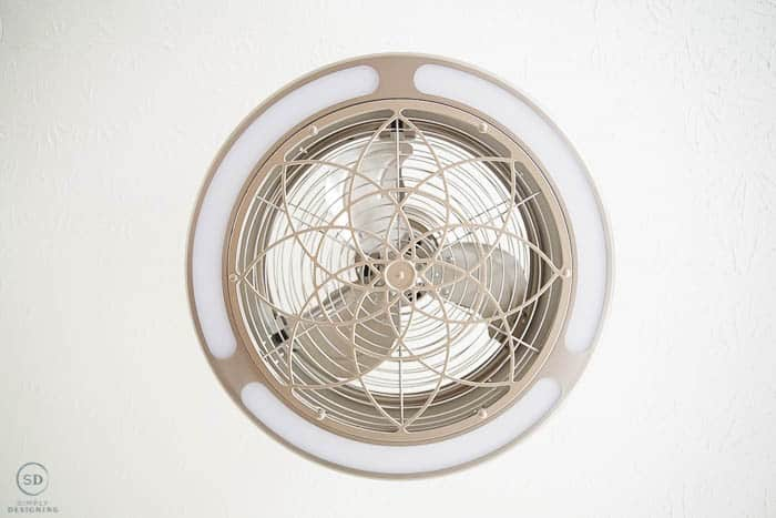 Stile Anderson Light and Fan