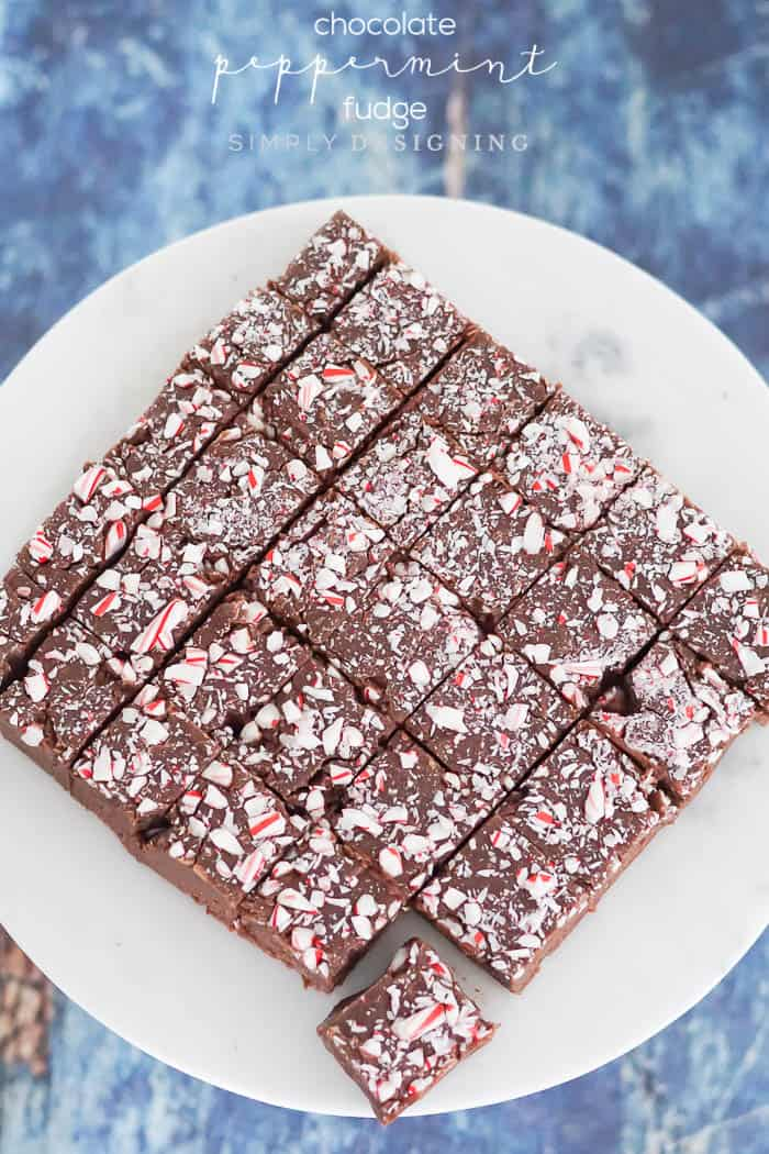 Chocolate Peppermint Fudge Recipe