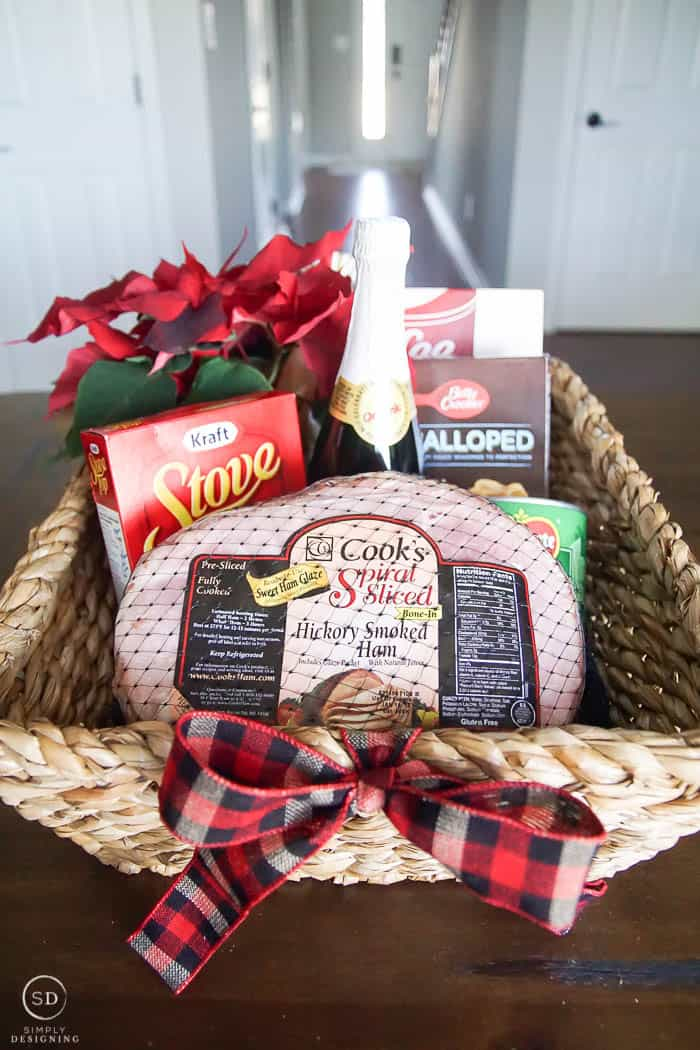 Holiday Meal Basket - Feed The Hungry - Light the World #LightTheWorld