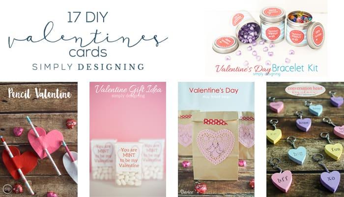 DIY Valentines - DIY Valentines Cards - Valentines Day - Handmade Valentine Card Ideas