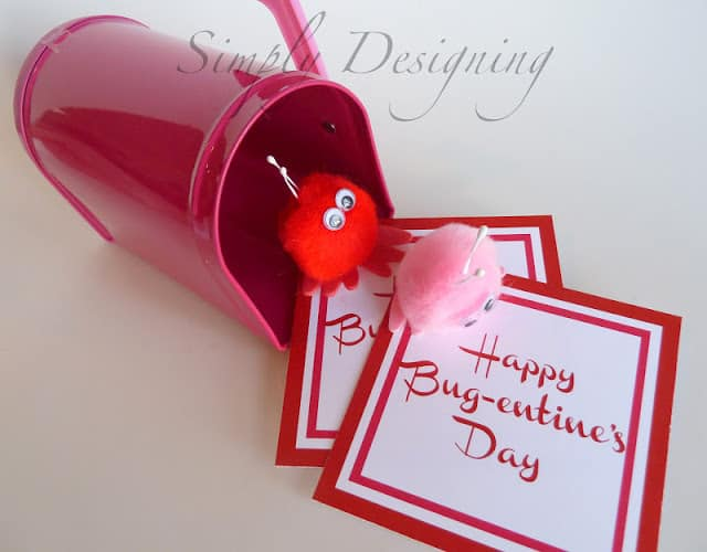 Valentines Day Cards for Boys Bug Valentines