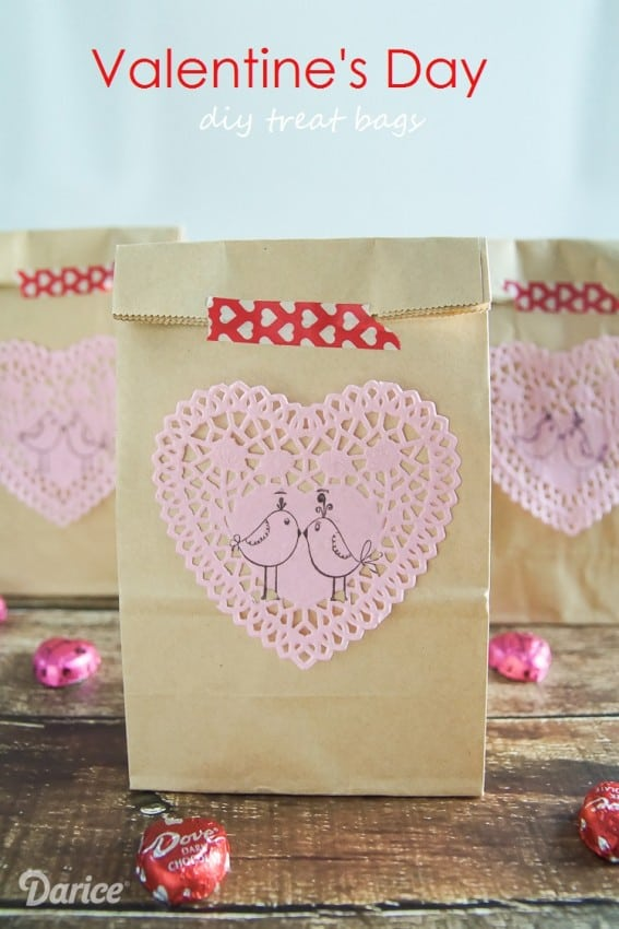 Valentines Day Treat Bags