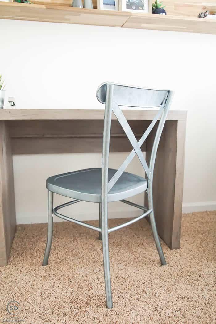 Farmhouse Office Chair