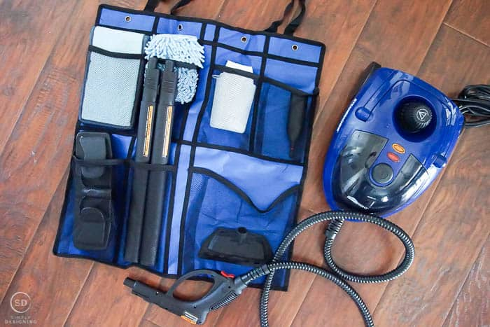 Steam Cleaner and accessory bag