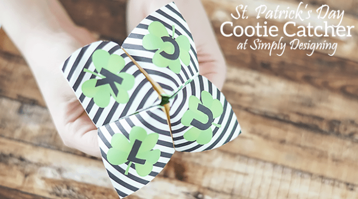 St. Patrick's Day Cootie Catcher