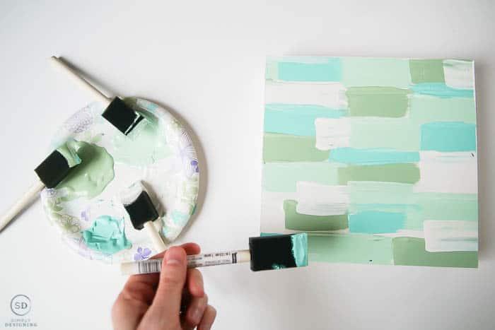 paint wood shadowbox