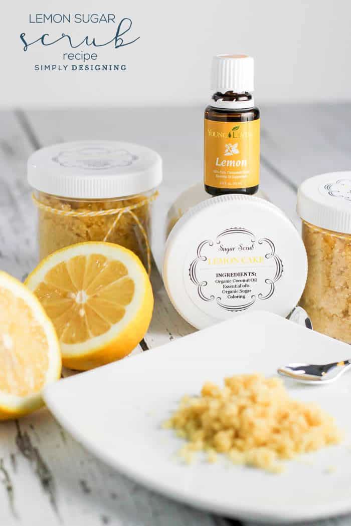 Lemon DIY Sugar Scrub