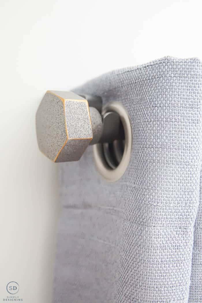 industrial curtain rod