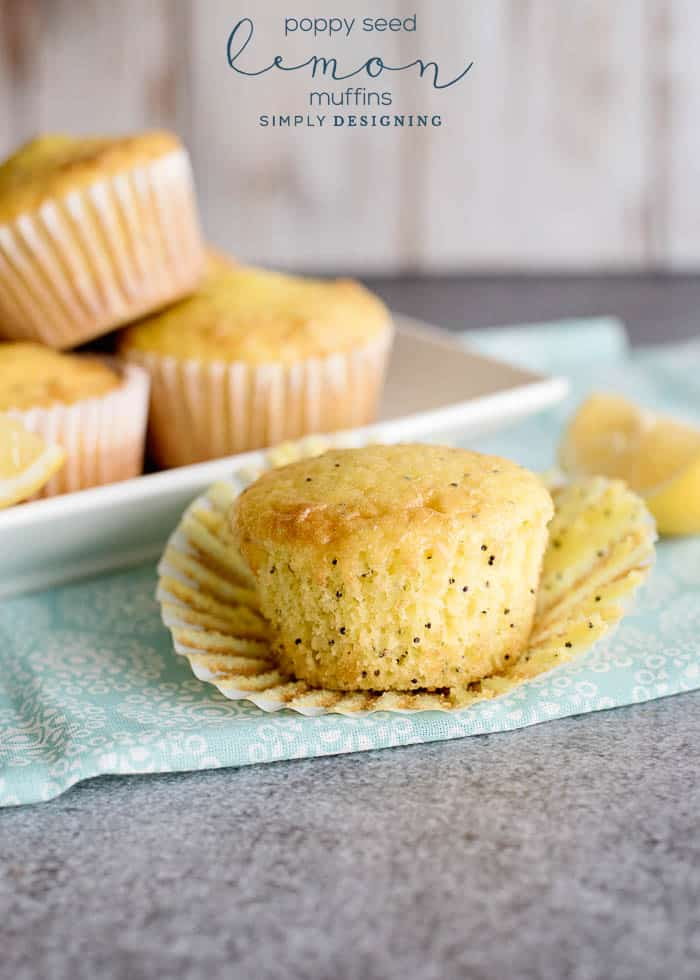 Lemon Muffins with Poppy Seeds