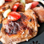 Mediterranean Chicken Thighs SheetPan Dinner Sheet Pan Caprese Chicken 10 Sheet Pan Caprese Chicken