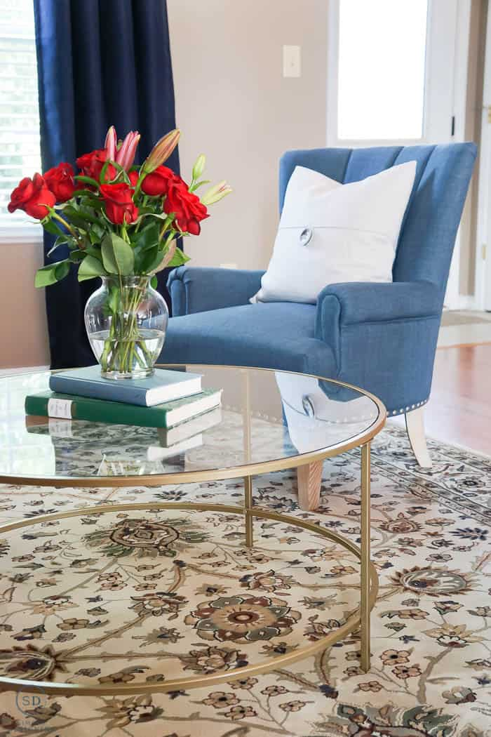 beautiful cold coffee table in room makeover makeover