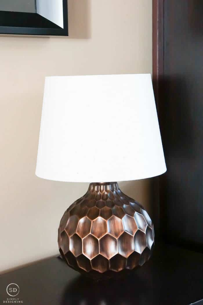 Lamp that is perfect for a library - masculine light fixture