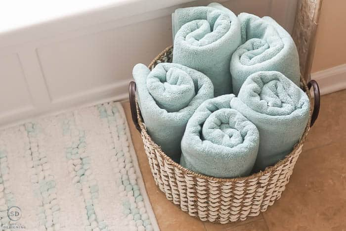 bathroom towels