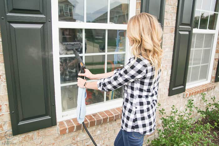 steam clean windows - the best way to clean windows inside and outside and so easy too