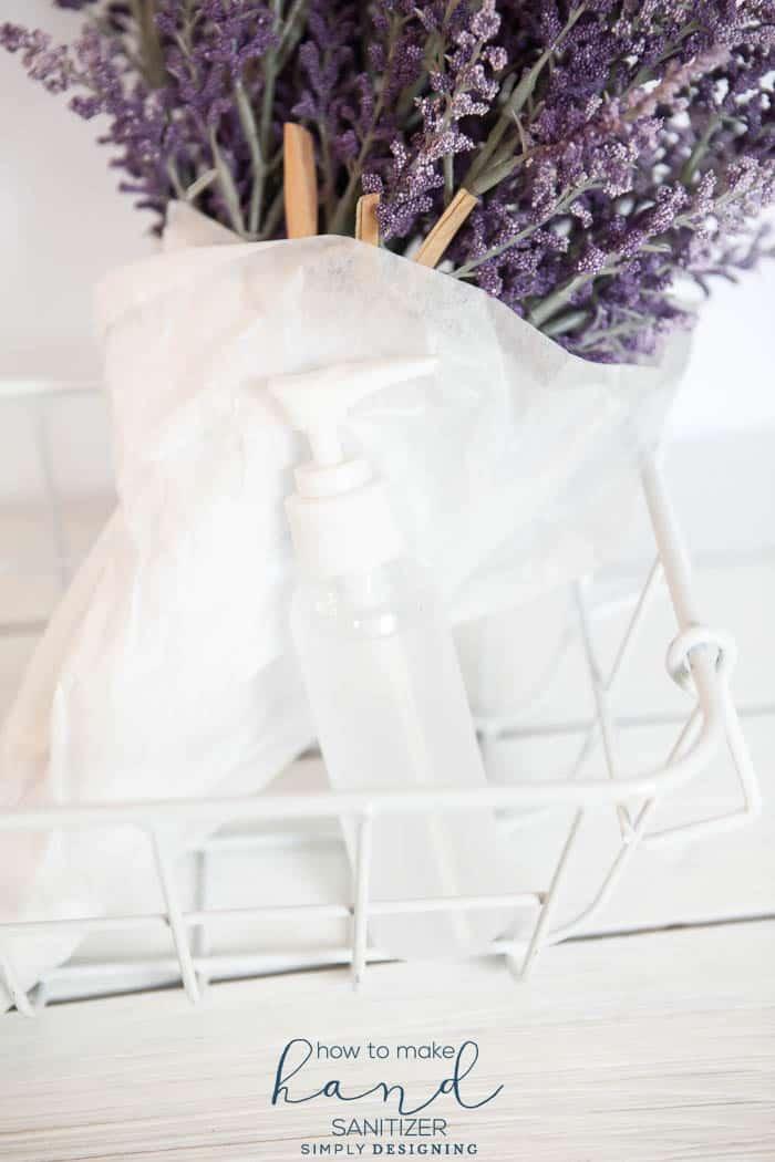 How to Make Hand Sanitizer - homemade hand sanitizer