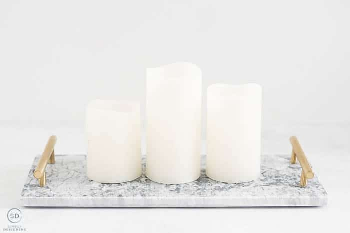 Christmas Gift Ideas Under $25 : marble tray