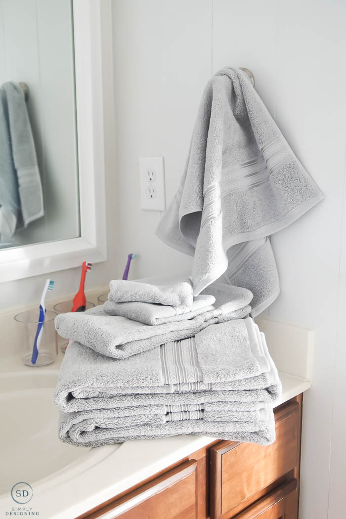 new gray towels for bathrooms - 5 new years resolutions to actually keep this year