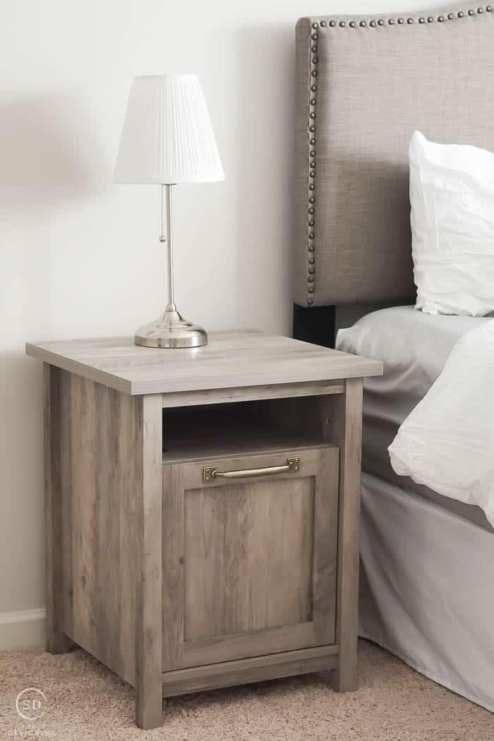new rustic nightstands for master bedroom
