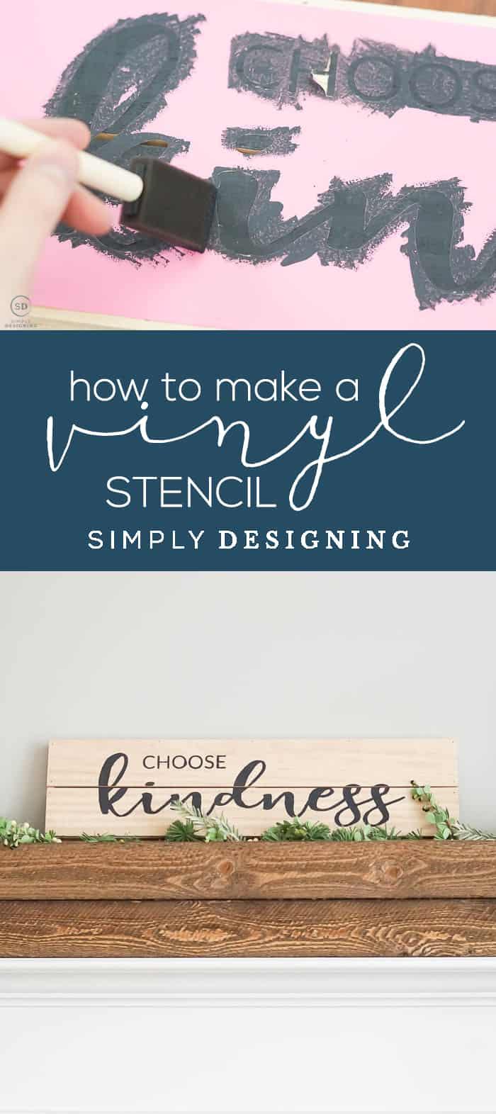 How to make a Vinyl Stencil