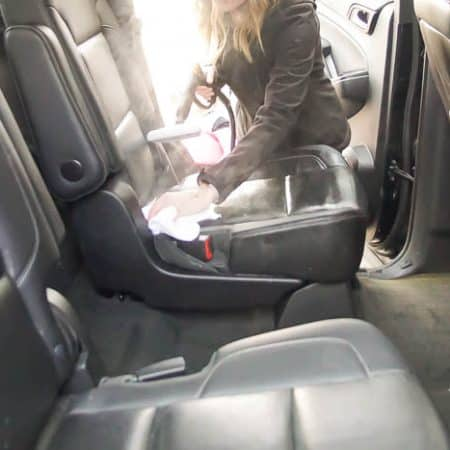 wipe down car