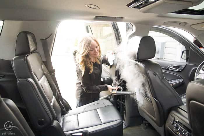 clean a car