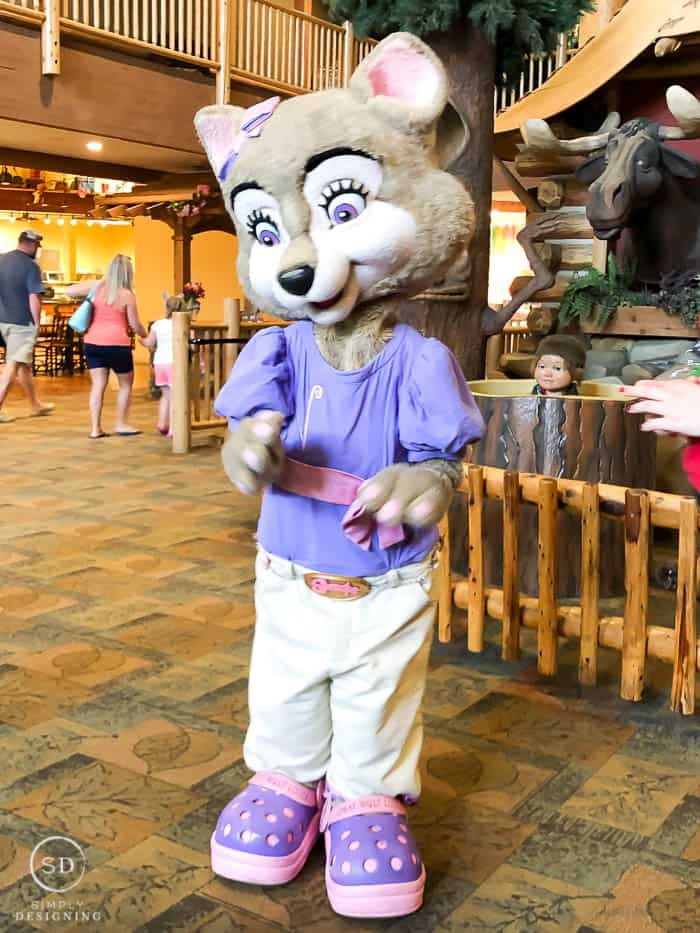 characters at great wolf lodge