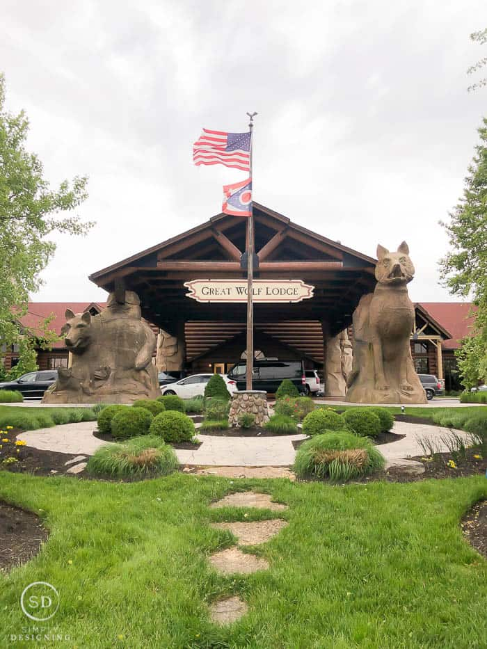 Visiting Great Wolf Lodge