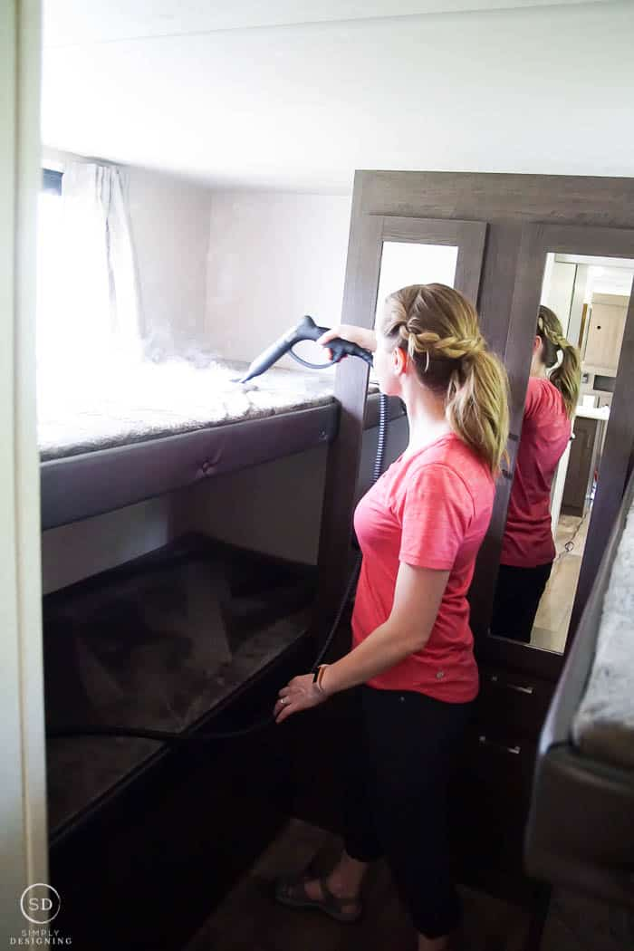 How to Clean an RV or travel trailer