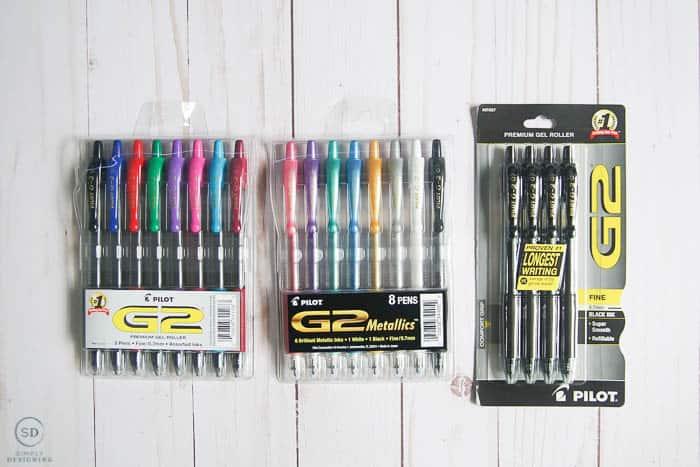 Best pens for bullet journaling