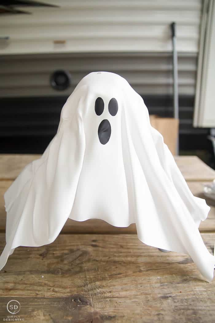 DIY ghost lantern