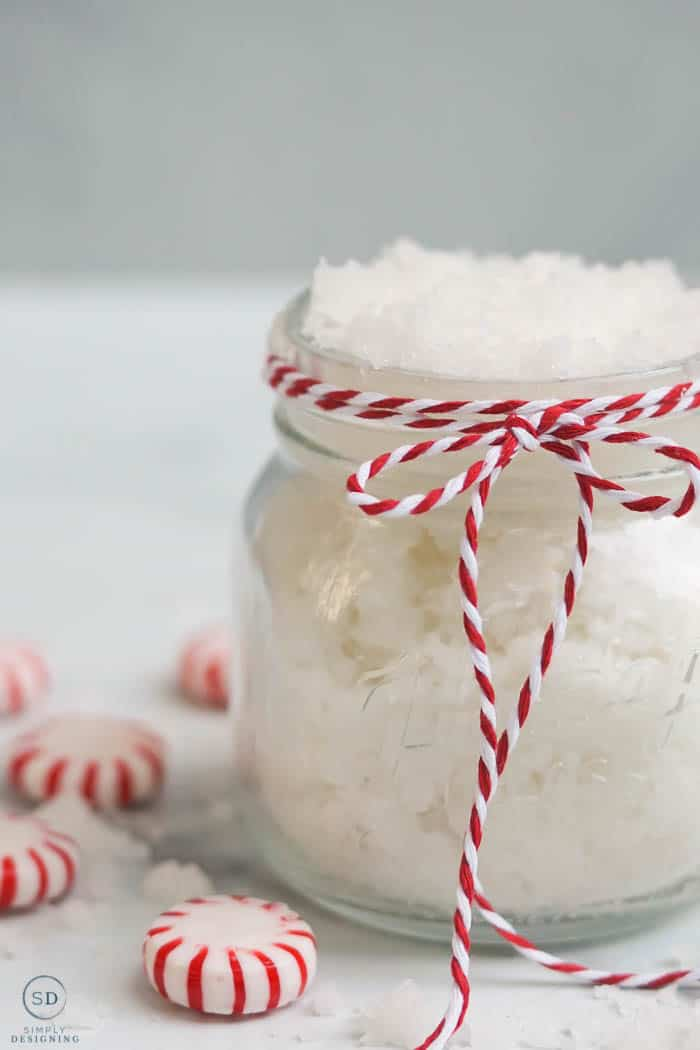 Peppermint Sugar Scrub is the perfect way to exfoliate and soothe your skin