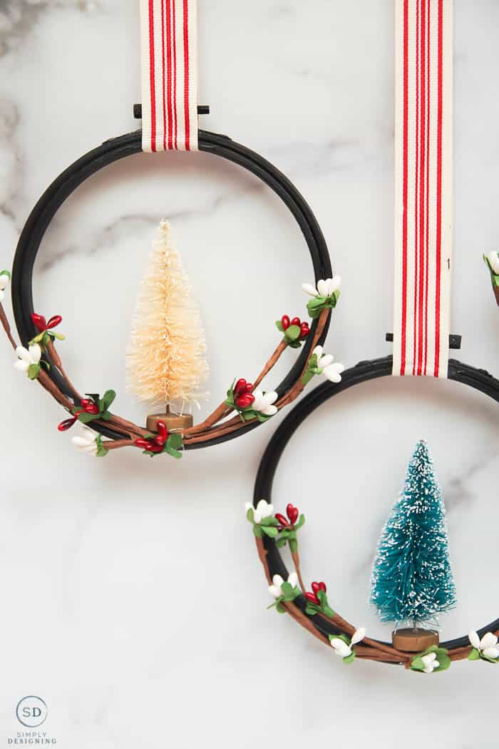 embroidery hoop ornaments