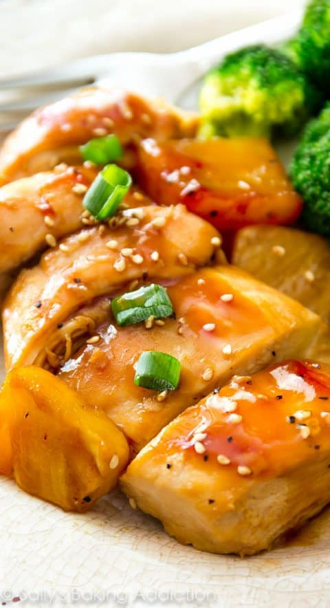 Baked Pineapple Teriyaki Chicken 8 25+ Pineapple Recipes for the Perfect Summer Treat 21 pineapple recipes