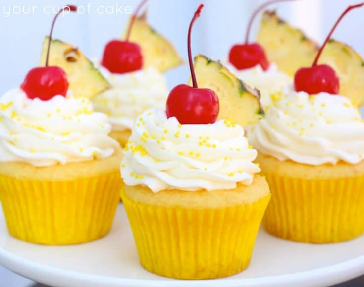 Pineapple Cream Cupcakes 25+ Pineapple Recipes for the Perfect Summer Treat 23 pineapple recipes