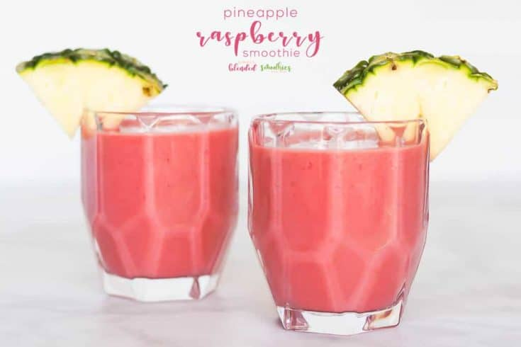 Pineapple Raspberry Smoothie Recipe 25+ Pineapple Recipes for the Perfect Summer Treat 10 pineapple recipes