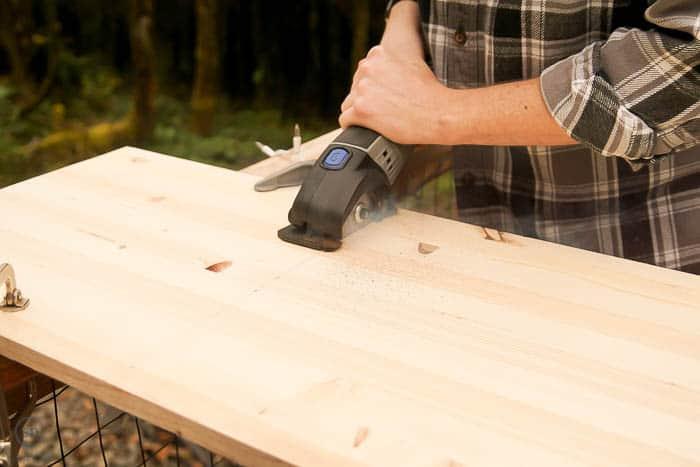 cut 16x16 board