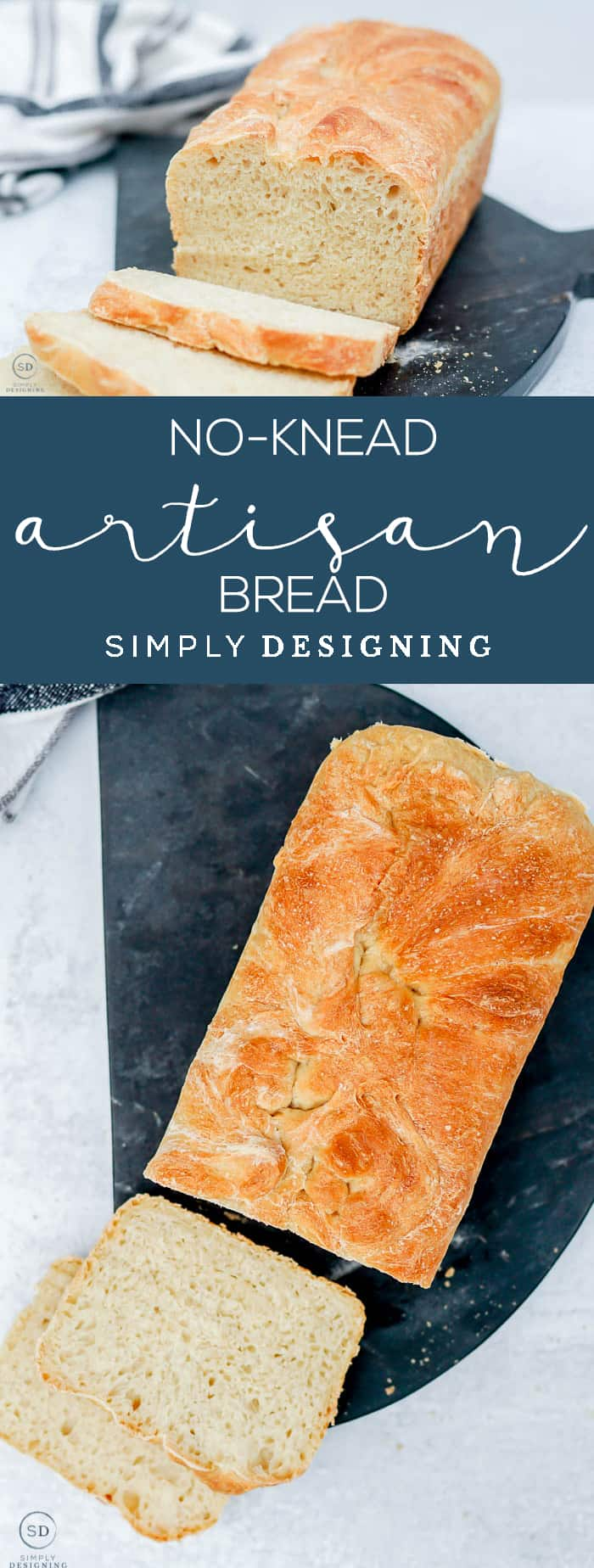 No-Knead Artisan Bread Recipe