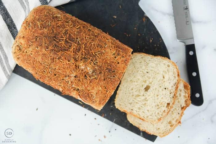 no-knead parmesan bread