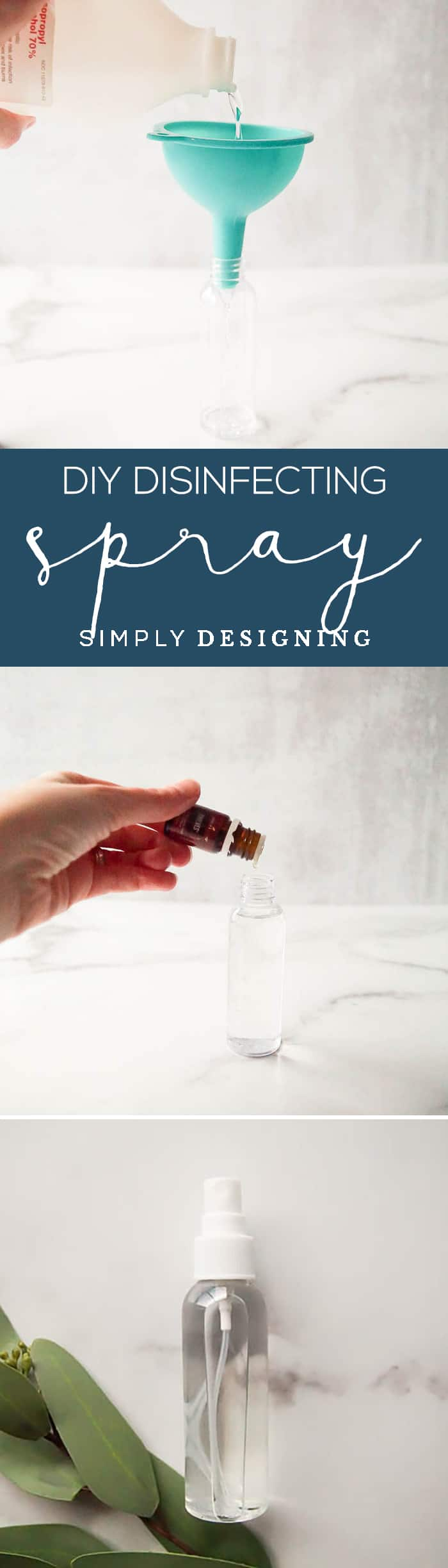 easy and inexpensive homemade sanitizing spray