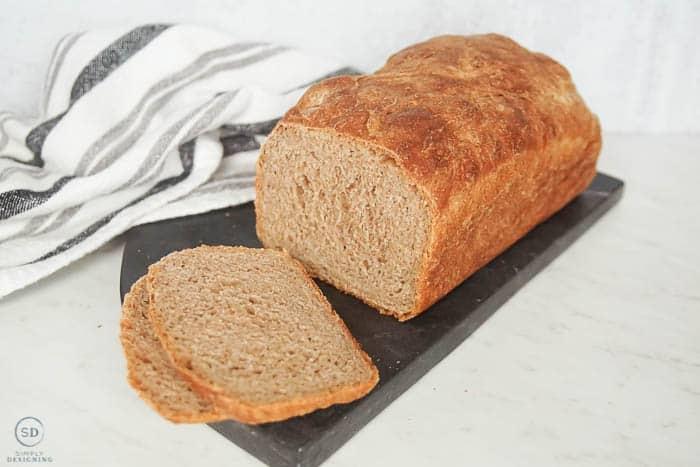 no fail whole wheat no knead bread